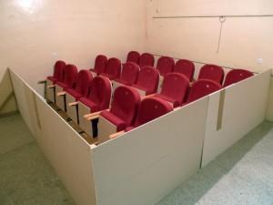 Pomiar współczynnika pochłaniania dźwięku foteli