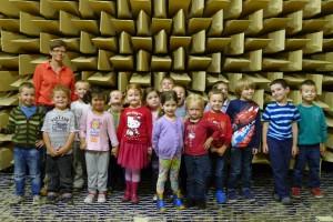 Wizyta przedszkolaków w Laboratorium